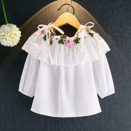 8b7f138c1 Camisa Blanca Del Bebé De La Manga Larga Online | Camisa Blanca Del ...