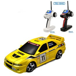 Brushless Car Speed Controller NZ - Mitsubishi evo model remote control cars 1:28 scale rc car high speed rc drift car toys for kids christmas gift