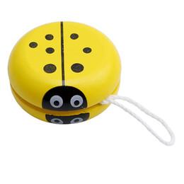 $enCountryForm.capitalKeyWord UK - Cute ladybird yo-yo toys Bearing Professional Yoyo Toys wood High Precision Game Special Props CX992245