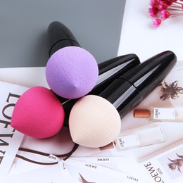 Wholesale 12 Makeup Foundation Sponge Puff Blender Blending Flawless Powder Smooth Cosmetic Smooth Puff brush Beauty Tool Applicators Cotton