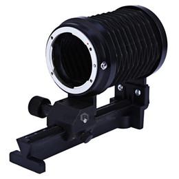 China Macro Extension Close-up Bellows for Nikon DSLR Cameras cheap close up cameras suppliers