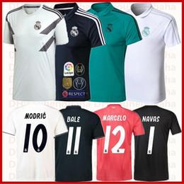 Real Madrid camiseta de fútbol Squad Training Top 2018 2019 casa visitante  tercera mujer futbol Camiseta ISCO BALE POLO portero Fútbol maillot e98b83363a432