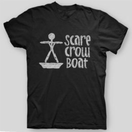 Wholesale SCARE CROW BOAT Parks Recreation Mouse Rat VINTAGE LOOK T Shirt SIZES Casual male tshirt tees