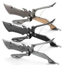 Discount outdoor self defense multi tool - multi function tool SR -KK77 KK77 stone wash knife survival kit outdoor fixed knife camping tools 1pcs freeshipping