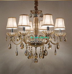 modern tier chandelier UK - crystal chandelier luxury led chandeliers vintage gold chandelier modern classic chandeliers with fabric multi-tier lighting ZG8160