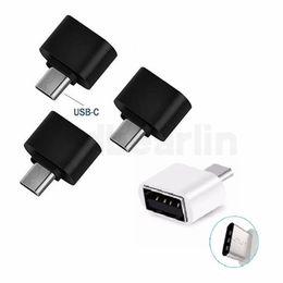 SamSung g6 online shopping - USB Type C OTG Adapter for Xiaomi mi6 Samsung Galaxy S8 Plus LG G6 G5 Type C USB C Phone