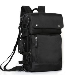 Wholesale Raged Sheep Men Laptop Backpack Large Capacity Simple Solid Color Men s Business Quality Brand Laptop Bag School Backpack