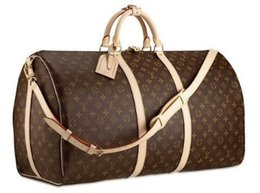 Cross bow sales online shopping - 54CM large capacity women travel bags famous classical designer sale high quality men shoulder duffel bags carry on luggage keepall