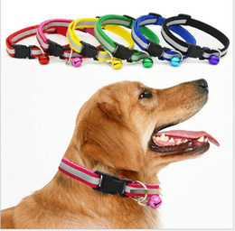 $enCountryForm.capitalKeyWord Canada - reflective dog accessories adjusted pet supplier collars night flash safety pet dog puppy cat safety collar leashes with bell
