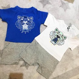 Wholesale blue collar clothes resale online – Retail new baby girls boys clothes cute Cartoon baby romper high quality cotton one piece Jumpsuit newborn baby girl clothes
