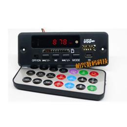 $enCountryForm.capitalKeyWord UK - Freeshipping dc 12V Bluetooth Receiver Module MP3 WMA WAV decoder board Digital LED player FM radio for diy Amplifier speaker