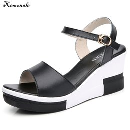 $enCountryForm.capitalKeyWord Canada - Xemonale Summer Women Flat Sandals shoes women Wedges Platform Sandalias Buckle Leather High Heels Casual Strap Sandals Ladies