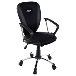 Discount ergonomic office chairs - Goplus Modern Ergonomic Computer Task Executive Mid-Back Desk Office Chair Black