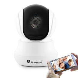 Wireless Dome Cctv Cameras UK - Houzetek IP Camera Indoor wireless cctv camera shenzhen IR dome ip security camera 720P hd pt onvif