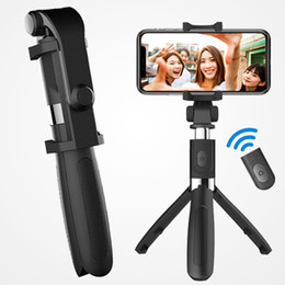extendable mirror NZ - Selfie Stick Tripod,Bluetooth Selfie Tripod with Mirror,Extendable Phone Tripod with Wireless Remote Phone Holder Compatible with iPhone X i