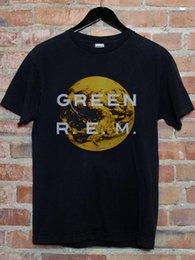 Vintage Vert Rem 1989 Michael Stipe T-Shirt Reprint S - 2XL Hommes 2018 Marque de mode T Shirt O-Neck 100% coton en Solde