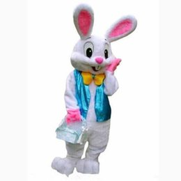 3 Photos Easter Bunny Rabbit Mascot Costume UK - 2018 new Hot Professional Easter Bunny Mascot Costumes Rabbit  sc 1 st  DHgate.com & Shop Easter Bunny Rabbit Mascot Costume UK | Easter Bunny Rabbit ...