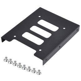 "PC için SSD HDD Metal Adaptör Montaj Braket Sabit Disk Tutucu ila 3,5"" 10pcs 2.5"" Freeshipping"