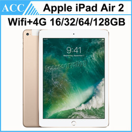 TableT pc core online shopping - Refurbished Original Apple iPad Air iPad WIFI G Cellular GB GB GB GB inch Triple Core A8X Chip Tablet PC DHL