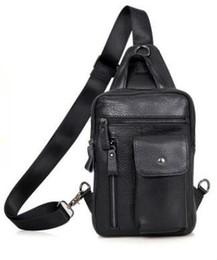 $enCountryForm.capitalKeyWord UK - Free shipping 2018 Men Chest Pack Single Shoulder Strap Back Bags Leather Travel Men Crossbody Bags Vintage Chest Bag