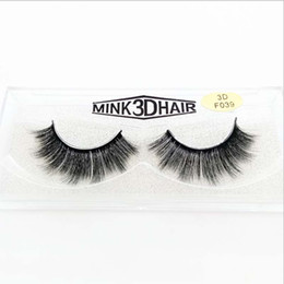 mink eyelashes box UK - 10Pairs lot Artificial Mink Faux Eyelashes Natural False Eyelashes Glitter Box Packaging Handmade Makeup Tools Free Shipping