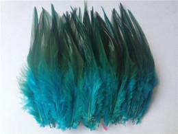 $enCountryForm.capitalKeyWord UK - Free shipping hot sale 50 pcs lot blue pheasant feather 10-15cm DIY jewelry decoration