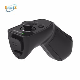 gamepad remote vr 2018 - EStgoSZ 3D VR Remote Wireless Bluetooth 3.0 Remote Controller Support for iOS Android Gaming virtual Gamepad Joystick Ga
