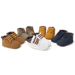 Toddlers fooTwear online shopping - Baby moccasins soft moustache shoes crib footwear newborn baby boys casual flock first walkers Toddler shoes Prewalker Baby shoes