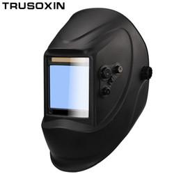 989b9e2f3e1de Fora de controle Grande visão eara 4 sensor de arco DIN5-DIN13 Solar auto  escurecimento TIG MIG MMA máscara de solda   capacete   soldador cap    lente ...