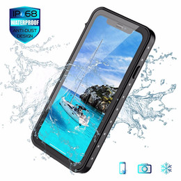 Iphone waterproof snow online shopping - Waterproof Case life water Shock Dirt Snow Proof Protection for iPhone X XS XR X MAX quot quot quot With Touch ID Case Cover