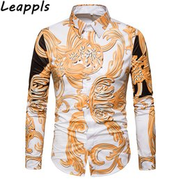 f9b9905d4 leappls Casual Shirts men Long sleeve fashion England Style 3D Print muscle  mens bodybuilding Tops fitness funny streetwear New