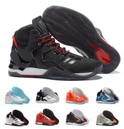 1420d4f4c657 2018 derrick rose low 2018 New D Rose 7 Boost Basketball Shoes Men Boosts  Hot Sale