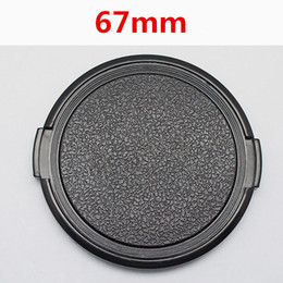 Dslr Camera Cap Australia - Wholesale 30pcs lot 67mm Camera Lens Cap Protection Cover Lens Front Cap for all 67mm DSLR free shipping