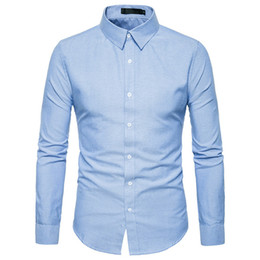 Male Clothing Styles Canada - Mature Man Pink Shirt Business Clothes Button Tops England Style Shirts Male Office Wear Blouse 2018 Hot Sale Handsome Boy Blusa