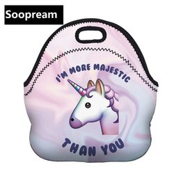 $enCountryForm.capitalKeyWord Canada - women unicorn Dessert coffee office pouch Thermal Insulated Neoprene Lunch Bag Women Kids Lunchbags Cooler Insulation Lunch Box