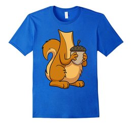 Chinese  Adult T Shirt S-2Xl Crew Neck Short-Sleeve Best Friend Squirrel Costume Shirts For Men manufacturers