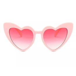 a2f5edc775 gafas de sol de corazón de moda para las mujeres gafas de sol de ojo de  gato único negro gafas de sol de forma de corazón rojo rosa para las  mujeres uv400