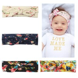 d6c8c93d30e6 Discount baby girl hair cloth band - wholesale Baby Girl headband bow knot  kids hair band