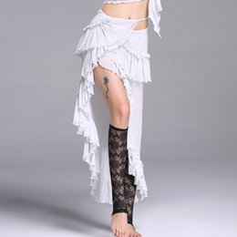 gypsy clothes women NZ - Belly Dance Costumes Sexy Clothes Gypsy Dance Skirt Silver Wire Skirts Performance Costume Belly Dancing Clothing Women DN1311