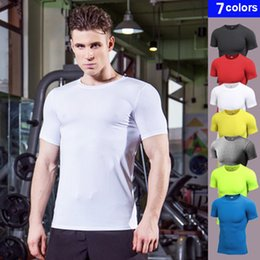 $enCountryForm.capitalKeyWord Australia - YEL 2018 Logo Custom-Compression Soccer Jerseys Rashgard Gym Running Shirts Fitness Tights Sport Suit Men'S Short Sleeve T-Shirt