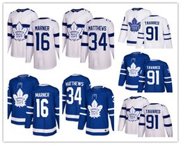 91 Джон Таварес 16 Митчелл Марнер 34 Остон Матте женщин Торонто Кленовые листья хоккейные майки белый стадион синий Салют 100-й фиолетовый камуфляж