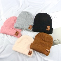 4f38f438 Winter Warm Kids Cap Crochet Kids Winter Cap Elastic Outdoor Boys&Girls  Soft Warm Knitted Hat Skullies Beanies Outdoor Hats