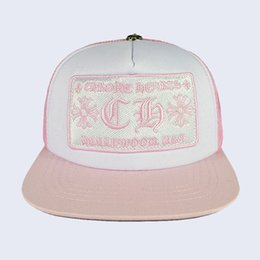 97189894ad6 New Korean wave cap letter embroidery bend fashion cap male hip hop travel  visor mesh female cross punk