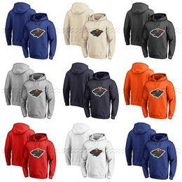 $enCountryForm.capitalKeyWord UK - Custom Minnesota Wild Hoodie Jerseys Pullover Hoodie Any Name Number Blank Stitched Hockey Hooded Sweatshirt