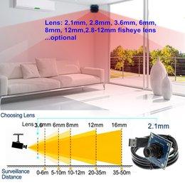 Module vidéo OV9712 CMOS capteur 1MP 720P USB caméra externe pour android smartphone windows linux PC