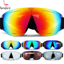 $enCountryForm.capitalKeyWord Australia - Adults Child Double Lens Ski Goggles Anti-fog UV400 for Outdoor Sports Skiing Goggles Snow Snowboard Protective Glasses Eyewear