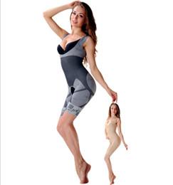 d4063a1605857 Hot Sale Fashion Women Slim Boduysuit building Sexy Corset Slimming Suit  Legs Shapewear full Body Shaper Magic Underwear