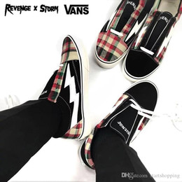 e58abacc2f 2018 Athentic Vans ® Revenge X Storm Pop-up Store Old Skool Canvas Mens  Designer Sports Running Shoes for Men Sneakers Women Casual Trainers