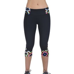 Discount low waist yoga pants - Cropped trousers sports leggings Sexy Yoga Pants Quick-drying Low waist Sport Tights Women vetement sportSMT0