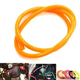 newest hose 2019 - For Newest 1M Red Motorcycle Dirt Bike Fuel Gas Pipe Oil Distribution Pipe Line Gasoline Hose 5mm I   D 8mm O   D cheap